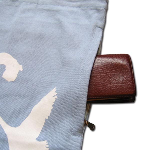 swans fashion canvas tote bag