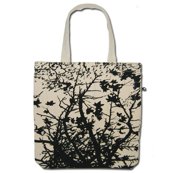maple tree fashion canvas tote bag