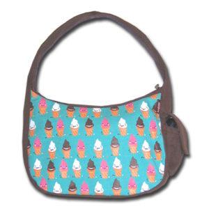 Funtote designer canvas hobo bag