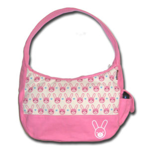 Funtote kawaii canvas hobo bag