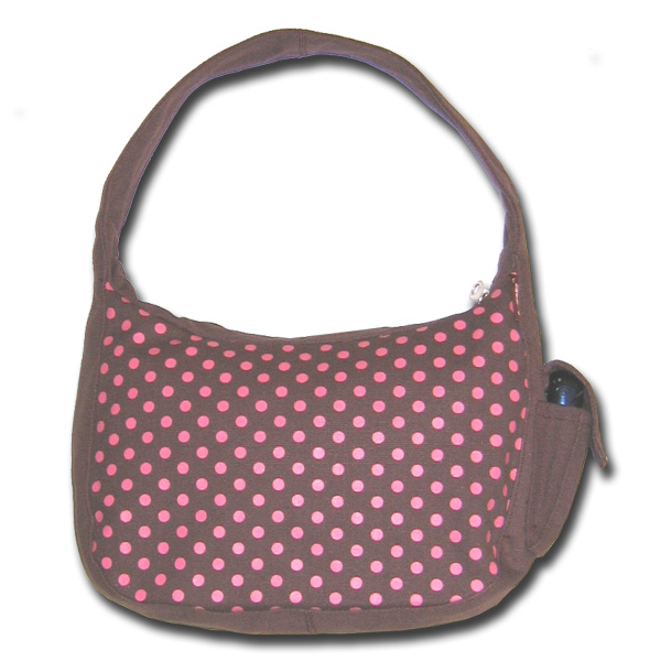Funtote canvas hobo shoulder bag