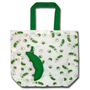 Funtote green shopping bag