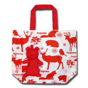 Funtote® Bear(red) Carry-Me fashion Eco Bag