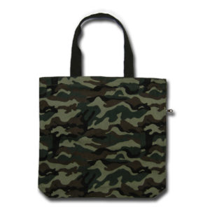 Funtote camouflage daily canvas tote bag