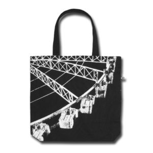 Funtote fun canvas tote bag