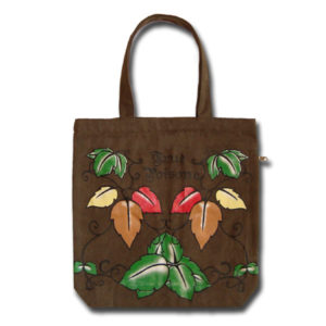 Funtote fashion tattoo canvas tote bag