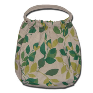 Funtote Leaf fashion gym canvas bag