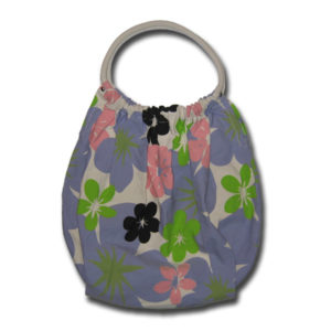 Funtote Hawaiian Floral womens carryall canvas bag