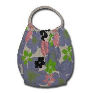 Funtote Hawaiian Floral womens carryall canvas bag