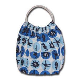 Funtote beach canvas carryall bag