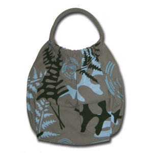 Funtote Fern designer canvas carryall bag